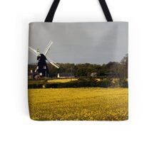 Windmill on a dull day Tote Bag