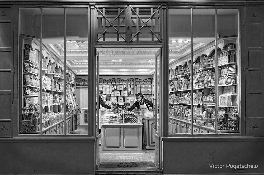 Shop Window by Victor Pugatschew