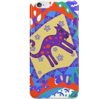 """""""Leaping Lion""""  iPhone Case/Skin"""