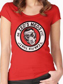 Zed's Meds Women's Fitted Scoop T-Shirt
