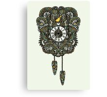 Cuckoo Clock Nest Canvas Print