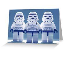 Troopers Greeting Card