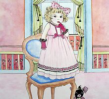 Freya, daughter of Rachelle by Elisabete Nascimento