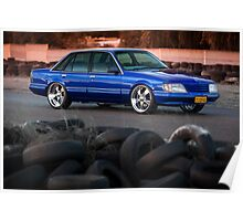 Craig Darcey's VK Holden Commodore Poster