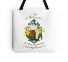 I met Li'l Sebastian at the Pawnee Harvest Festival Tote Bag