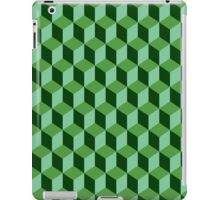 darker square shadow perspective pattern  iPad Case/Skin