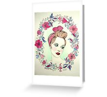 victoria Greeting Card