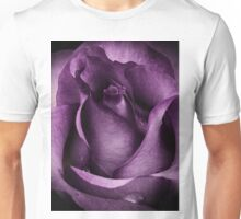 Purple Rose Unisex T-Shirt