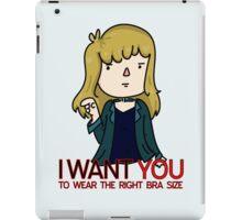 I Want You - Bra iPad Case/Skin