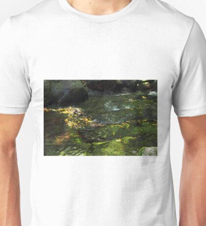 Ripple and flow Unisex T-Shirt