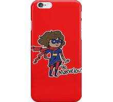 Kamala Khan - Be Marvelous iPhone Case/Skin