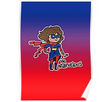 Kamala Khan - Be Marvelous Poster