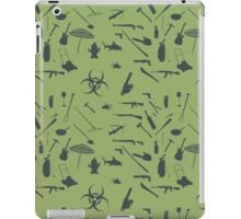 Zombie weapons iPad Case/Skin