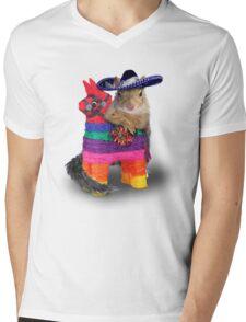 Mexican Squirrel Mens V-Neck T-Shirt