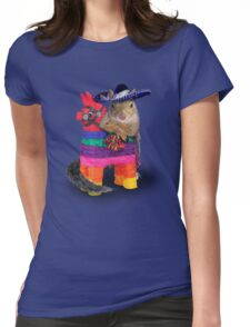 Mexican Squirrel Womens Fitted T-Shirt