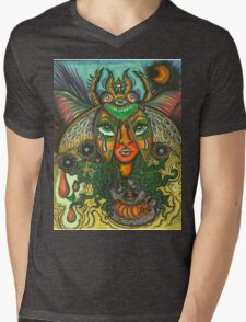 Our Lady of the Metamorphosis Mens V-Neck T-Shirt