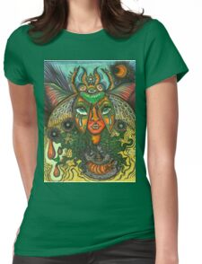 Our Lady of the Metamorphosis Womens Fitted T-Shirt