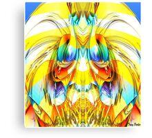 Sun Warrior Canvas Print