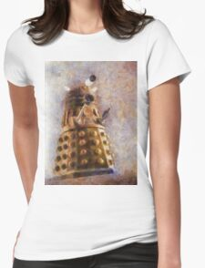 Dalek Flies! Womens Fitted T-Shirt