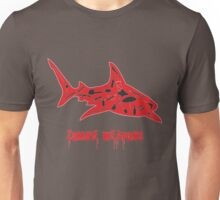 The best zombie weapon is a shark? Unisex T-Shirt