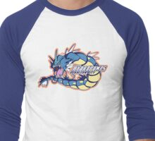 Cerulean City Hydro Pumps: Gyarados Sport Logo Men's Baseball ¾ T-Shirt