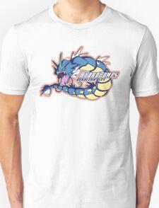 Cerulean City Hydro Pumps: Gyarados Sport Logo T-Shirt