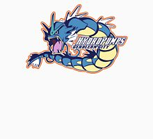 Cerulean City Hydro Pumps: Gyarados Sport Logo Men's Baseball ¾ T-Shirt