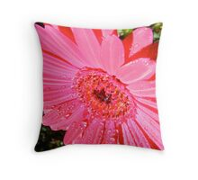 Early Morning Shower. Throw Pillow
