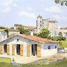 House in Charente, France by ian osborne