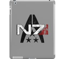 N7 Systems Alliance iPad Case/Skin
