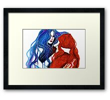 Ever Since The Day We Shared The Same Air Framed Print