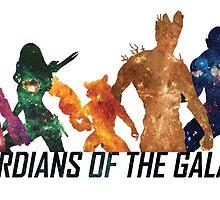 Guardians of the Galaxy by debaroohoo