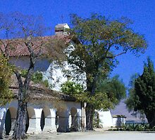 Mission San Juan Bautista by Cupertino