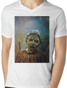 The Lonely assassin or weeping Angel Mens V-Neck T-Shirt