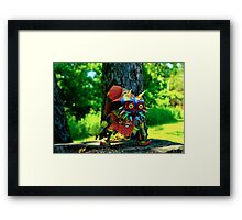 Skull Kid Framed Print