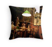 Window Display - Montmartre (Paris, France) Throw Pillow