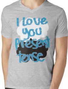 I love you present tense Mens V-Neck T-Shirt