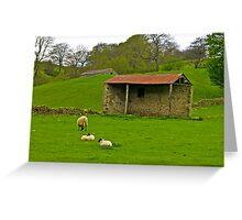 Open Barn Greeting Card
