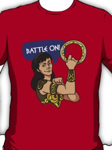We Can Do It, Xena Style T-Shirt