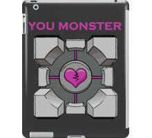 You Monster (dark) iPad Case/Skin