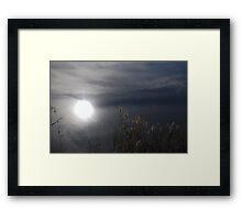 Waterfelt Peace - Launceston, Tasmania Framed Print