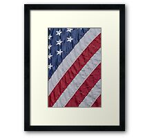 Stars and Stripes ~ Freedom Flag Framed Print