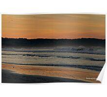 Morning Surf in Warrnambool Poster