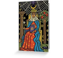 The High Priestess Greeting Card