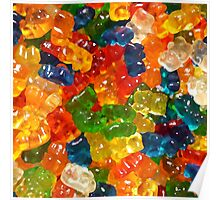 Gummy Bears by Squibble Design Poster