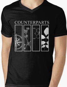 Counterparts Mens V-Neck T-Shirt