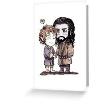 Bagginshield Chibi Greeting Card