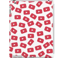 YouTube Play Button iPad Case/Skin
