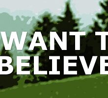 I want to believe by spooky-mulder