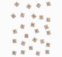 Scrabble Kids Tee